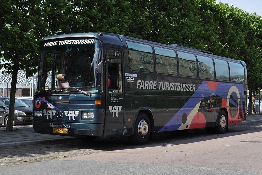 Farre Turistbusser PC90355 ved Musikhuset i Århus den 28. juli 2011