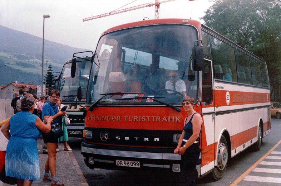 Helsingør Turisttrafik DR98098 i Østrig i juli 1988