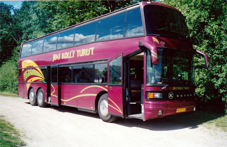 Jens Kolls Turist PX93713 i Sverige i maj 2001