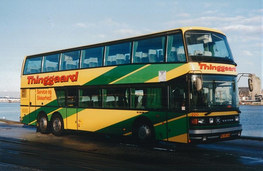 Thinggaard 220/MC89248 på havnen i Aalborg i 1995