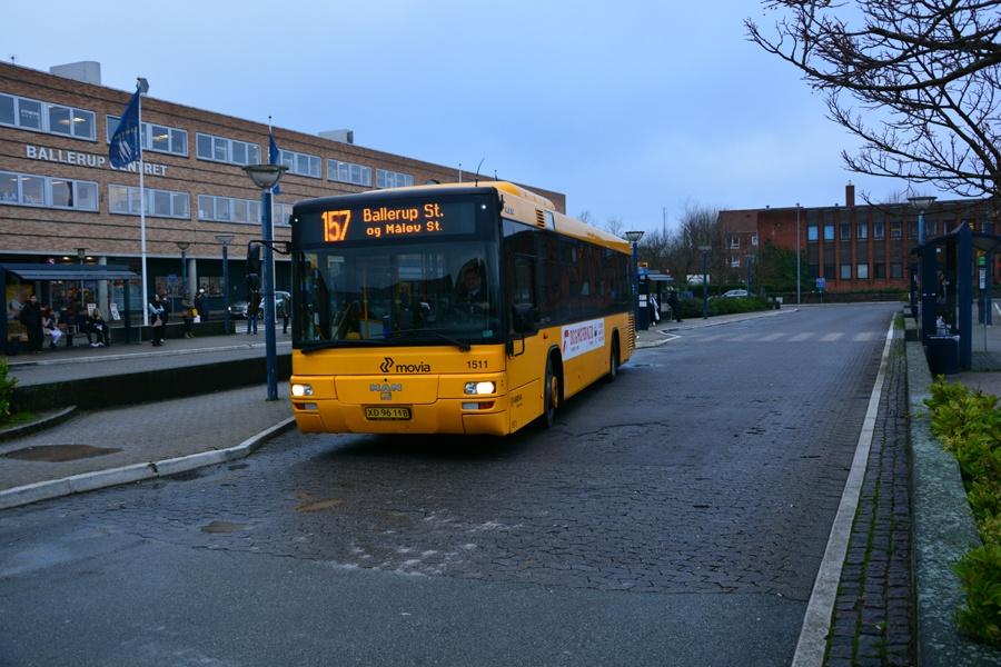 Arriva 1511/XD96118 ved Ballerup st. den 18. december 2015