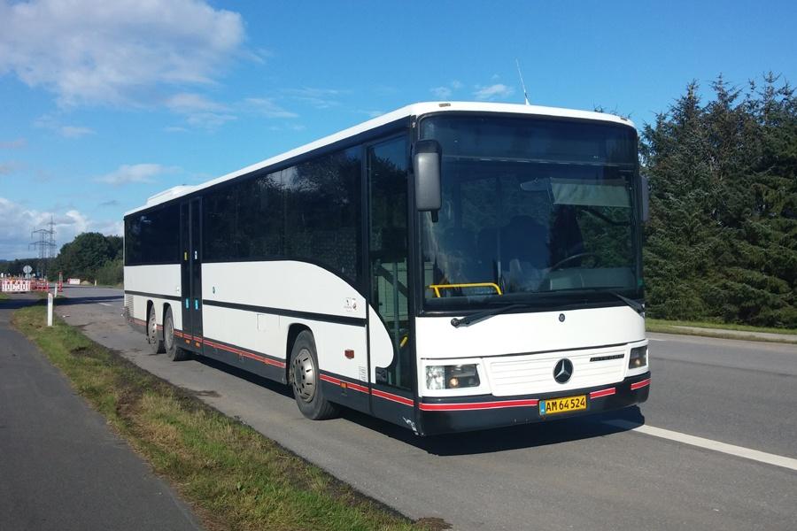 PP Busselskab AM64524 mellem Spørring og Trige den 25. september 2015
