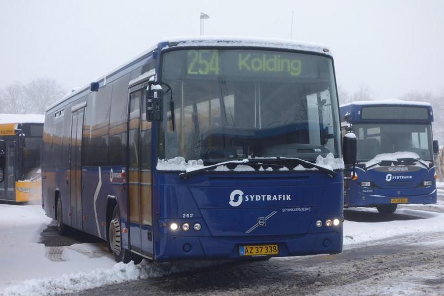 Umove 262/AZ37338 på Gammelhavn i Vejle den 23. januar 2016
