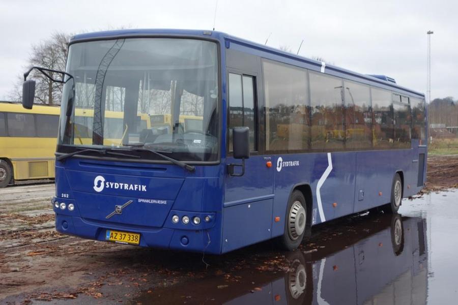 Umove 262/AZ37338 på Gammelhavn i Vejle den 29. december 2015