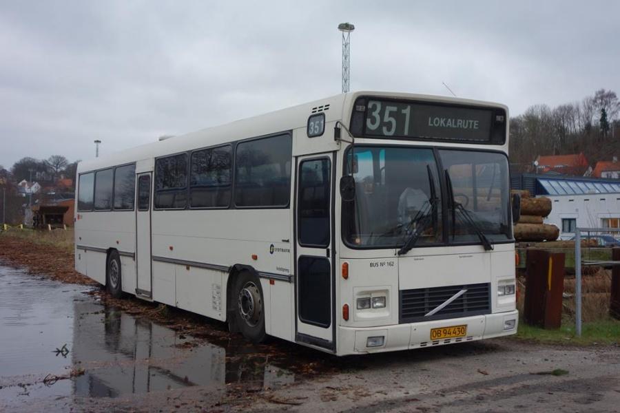 Umove 162/OB94430 på Gammelhavn i Vejle den 29. december 2015