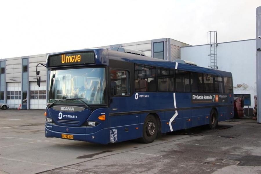 Umove 607/UL92100 på Gammelhavn i Vejle den 21. december 2015