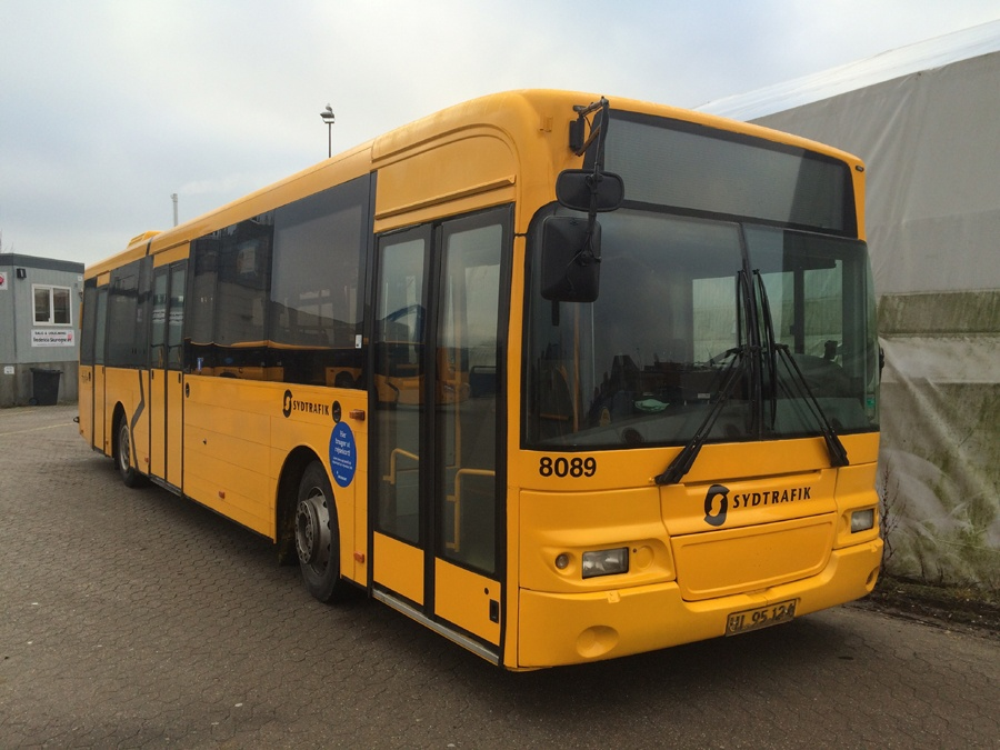 Tide Bus 8089/UL95124 i Aabenraa den 12. februar 2016