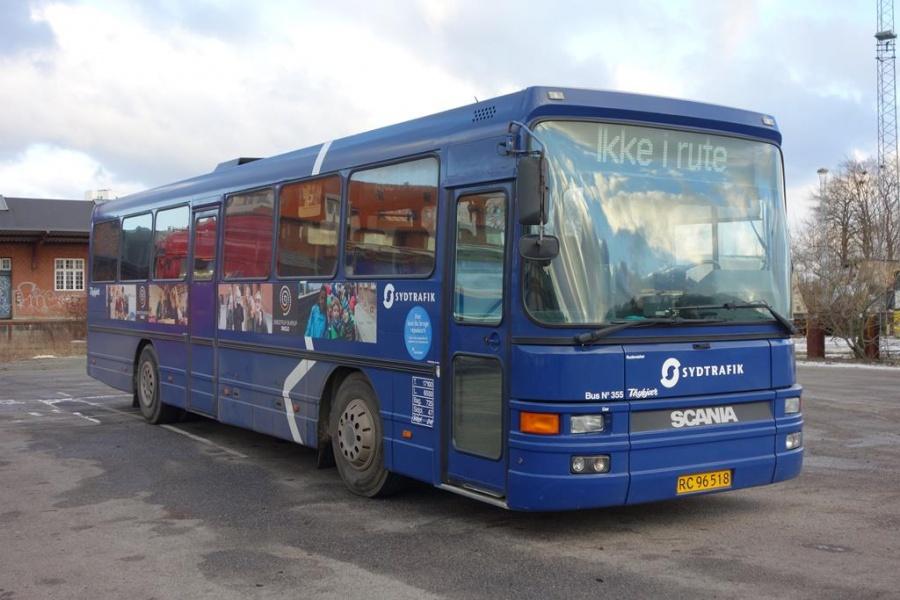 Umove 355/RC96518 på Gammelhavn i Vejle den 6. januar 2016