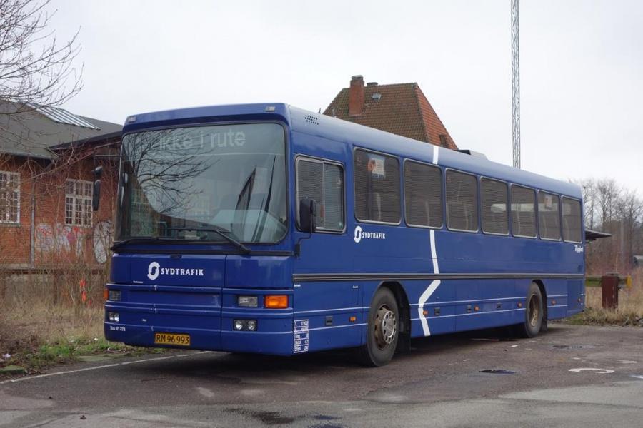 Umove 333/RM96993 på Gammelhavn den 15. januar 2016