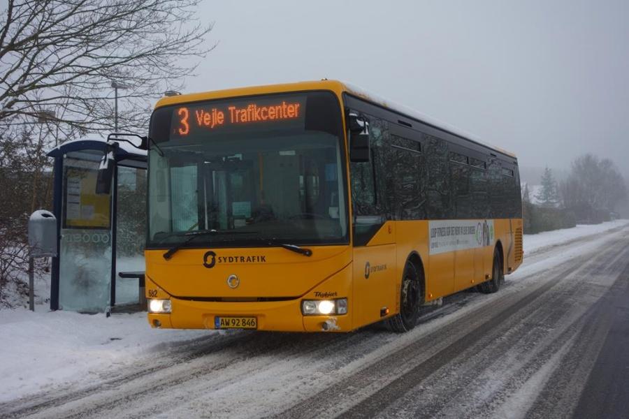 Umove 682/AW92846 på Vindinggård Ringvej i Vejle den 23. januar 2016