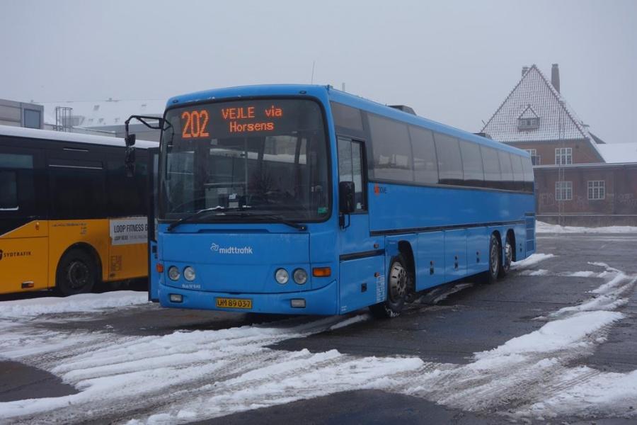 Umove 640/UM89037 på Gammelhavn i Vejle den 23. januar 2016