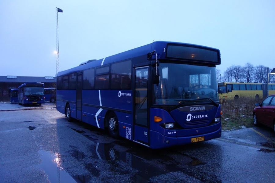 Umove 84/UL92097 på Gammelhavn i Vejle den 24. januar 2016