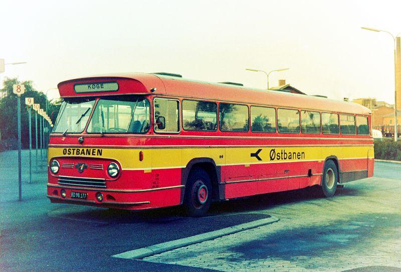 Østbanen 105/BD98177 på Køge rtb. den 22. september 1974