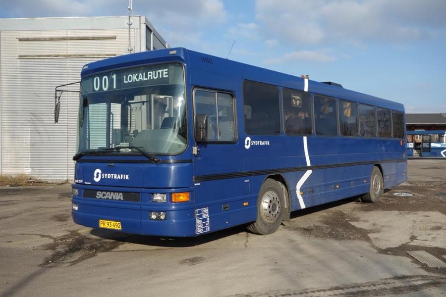 Umove 218/PR93492 på Gammelhavn i Vejle den 29. februar 2016