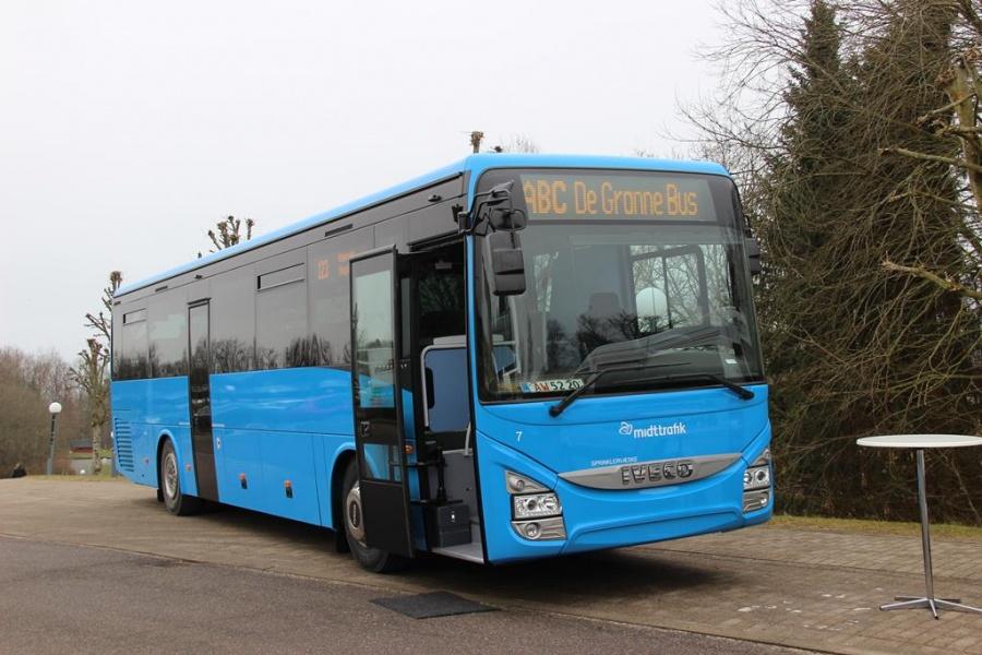 De Grønne Busser 7 i Kolding den 18. marts 2016