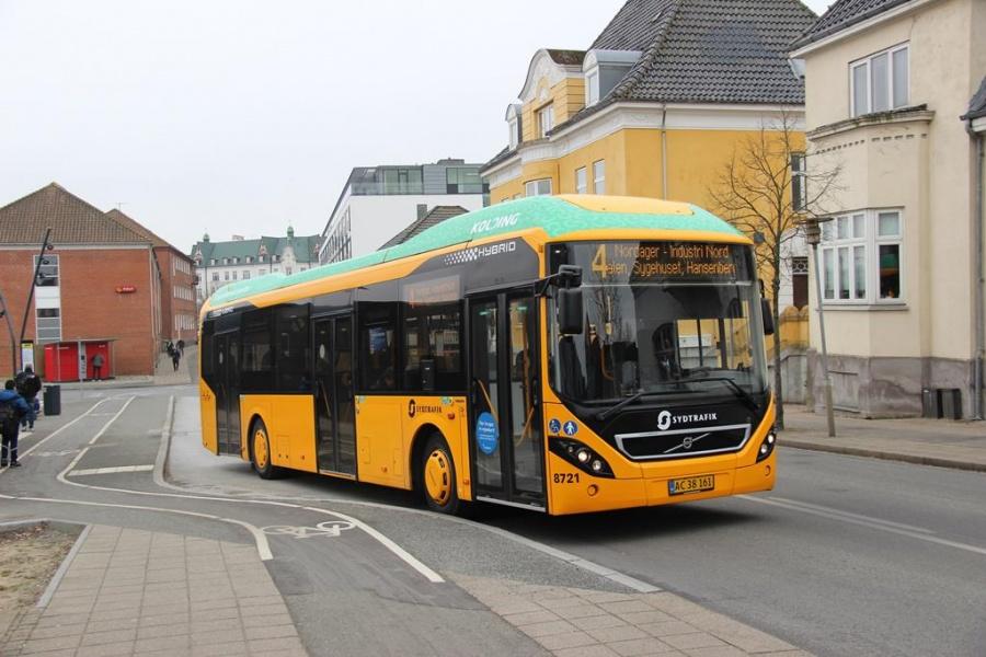 Tide Bus 8721/AC38161 i Kolding den 18. marts 2016