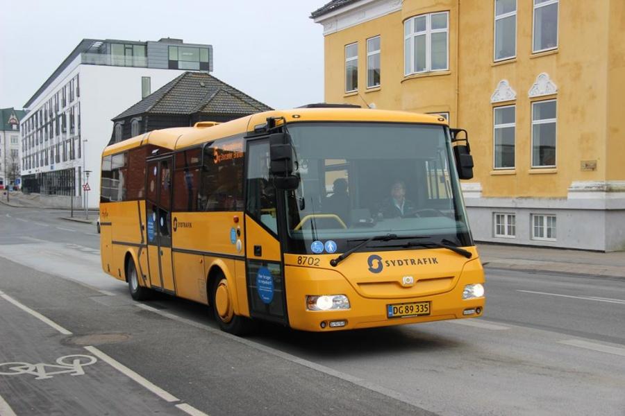 Tide Bus 8702/DG89335 i Kolding den 18. marts 2016