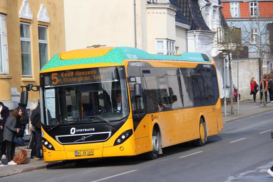 Tide Bus 8723/AC38160 i Kolding den 16. marts 2016