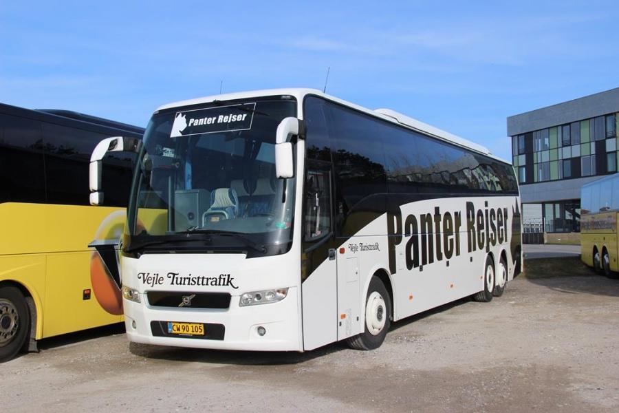 Vejle Turisttrafik 54/CW90105 i Vejle den 26. marts 2016