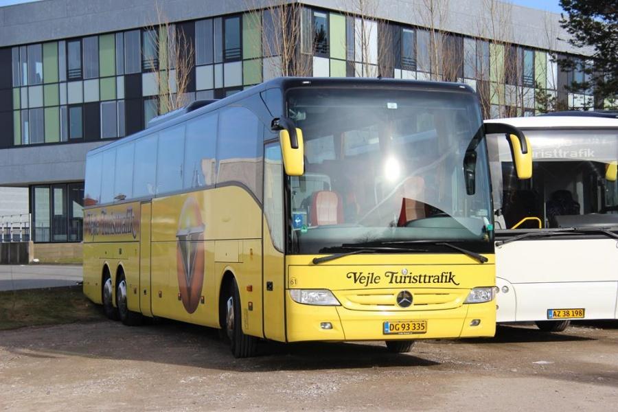 Vejle Turisttrafik 61/DG93335 i Vejle den 26. marts 2016