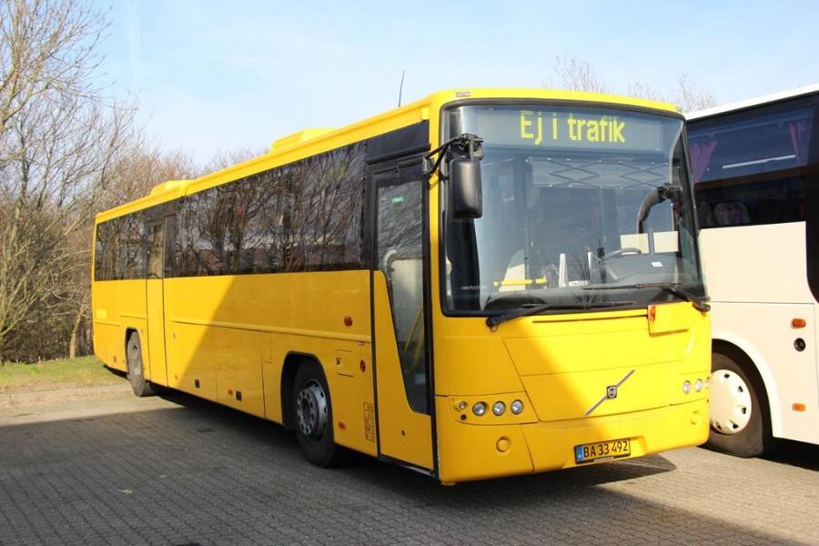 Agerskov Turistfart BA33492 ved Bus Center Vest i Kolding den 2. april 2016