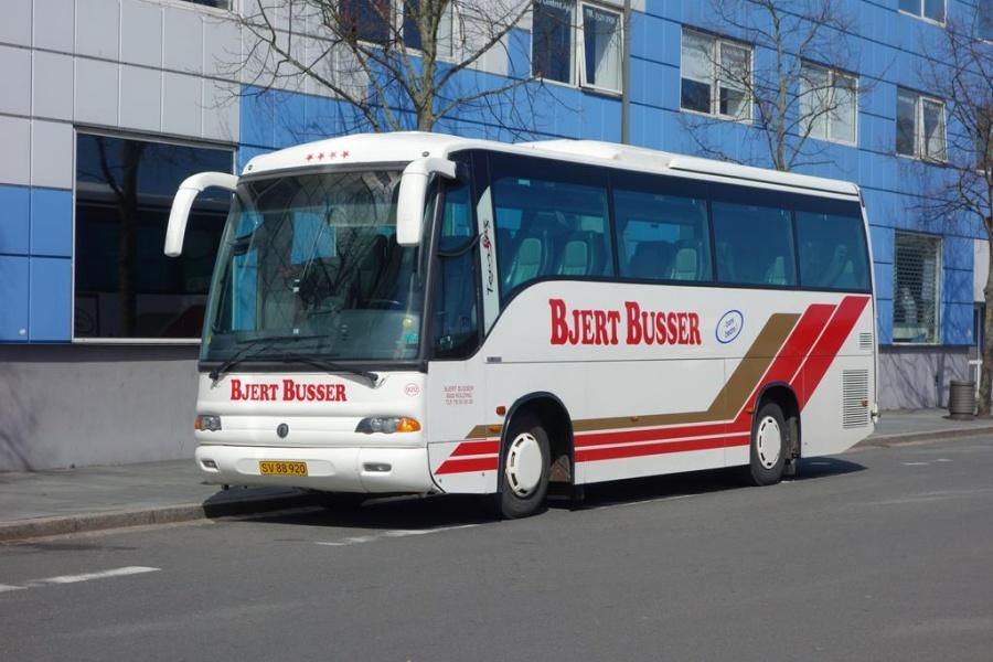 Bjert Busser 920/SV88920 på Vejle Trafikcenter den 20. april 2016