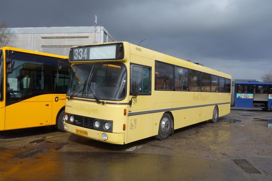 Umove 268/NY93094 på Gammelhavn i Vejle den 30. marts 2016