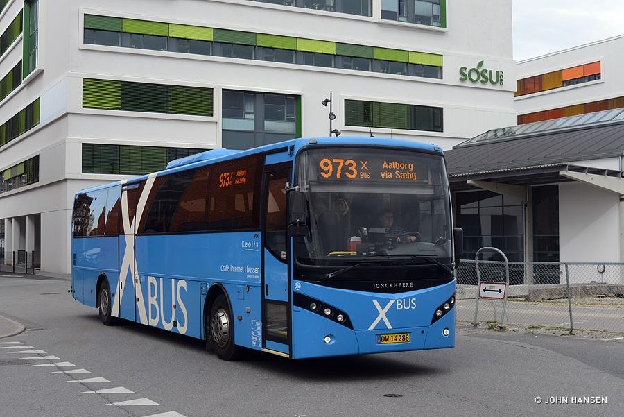 Keolis 246/DW14288 ved Aalborg Rutebilstation den 12. april 2016