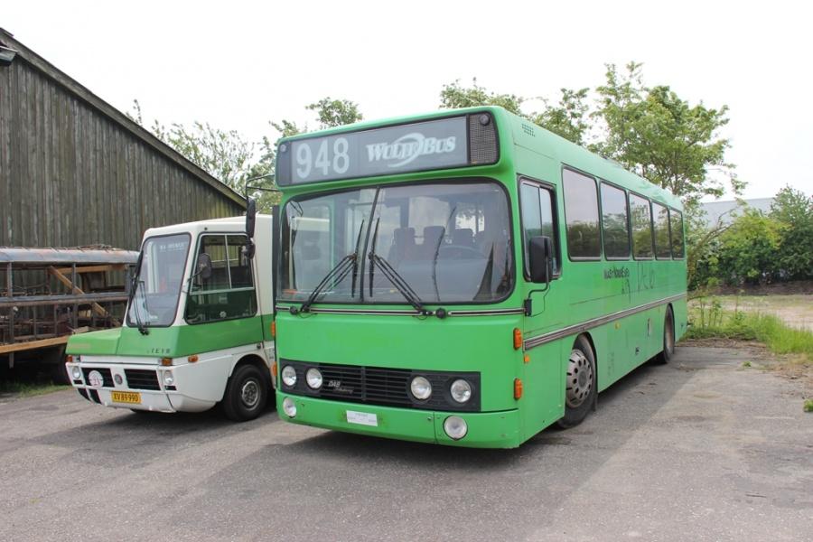 Handybus XV89990 og Ikast Nordre SFO i Skælskør den 21. maj 2016