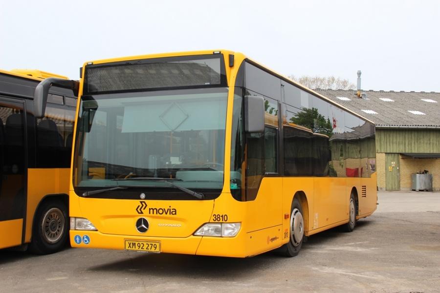 Egons Turist- og Minibusser 3810/XM92279 i Skælskør den 21. maj 2016