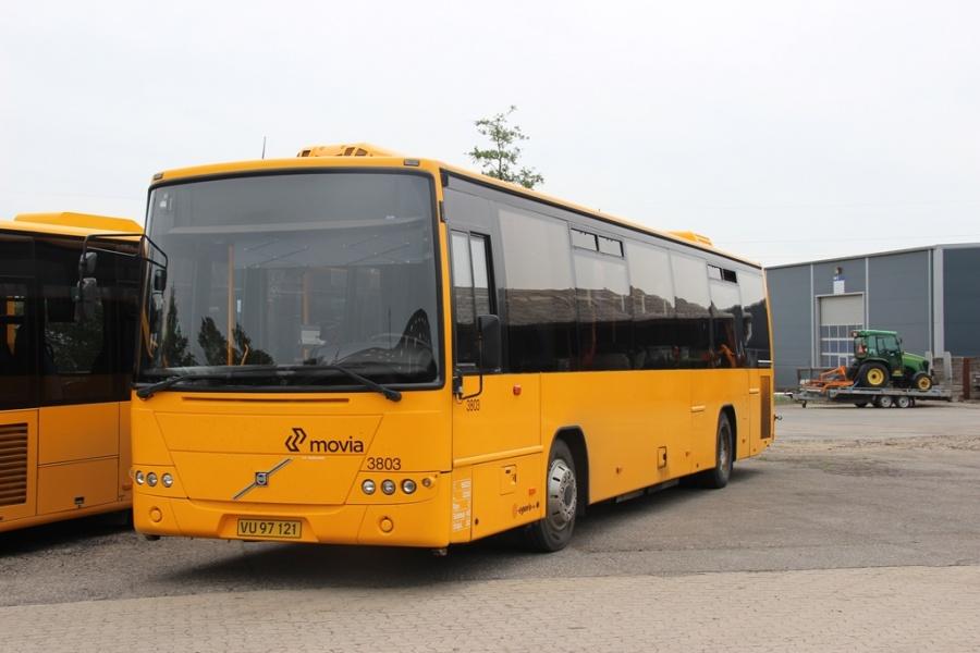 Egons Turist- og Minibusser 3803/VU97121 i Skælskør den 21. maj 2016