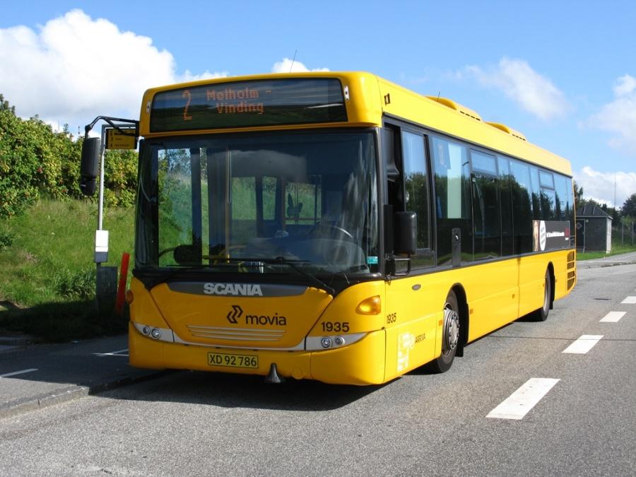 Arriva 1935/XD92786 på Sønderdalen i Vejle den 15. september 2009