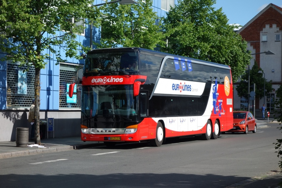 Københavns Bustrafik 67/BB25219 på Vejle Trafikcenter den 11. juni 2016