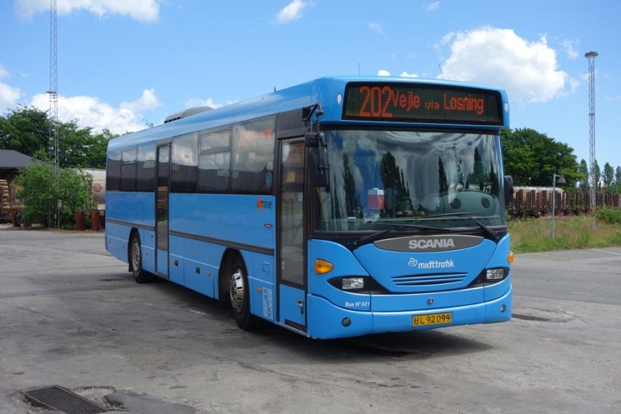 Umove 621/UL92099 på Gammelhavn i Vejle den 11. juni 2016