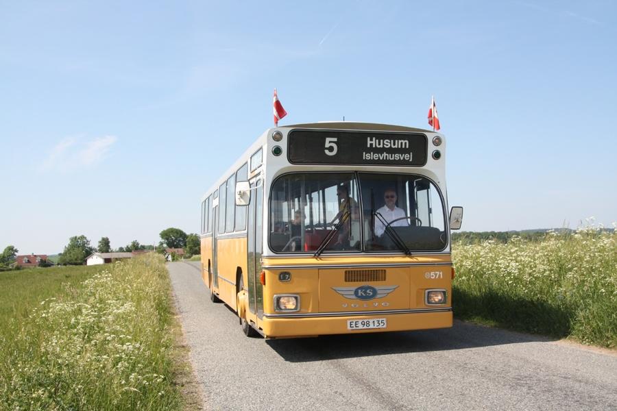 KS 571/EE98135 i nærheden af Sporvejsmuseet Skjoldenæsholm den 4. juni 2016