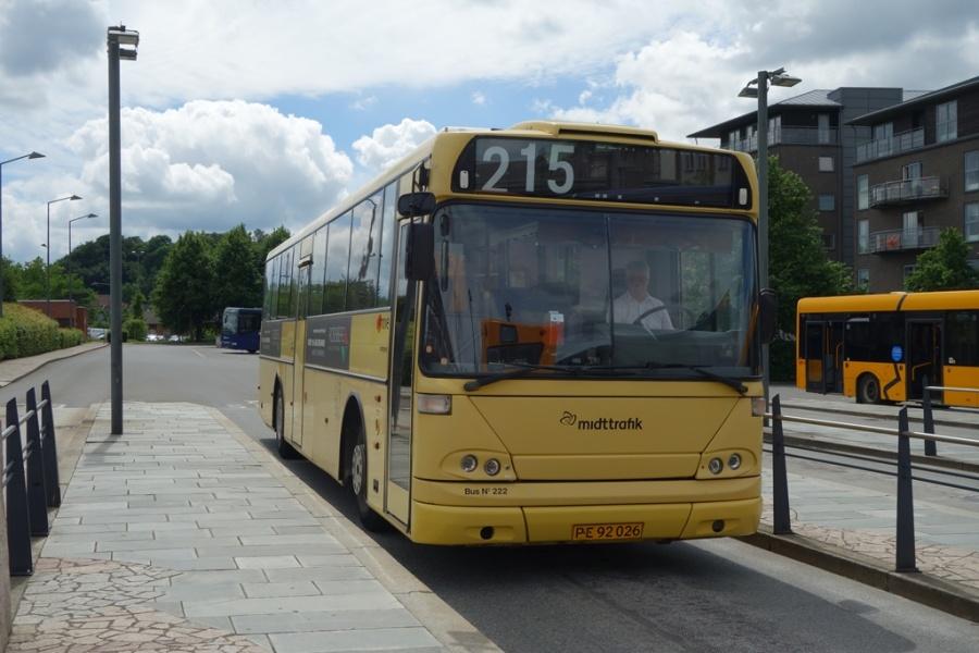 Umove 222/PE92026 på Vejle Trafikcenter den 21. juni 2016