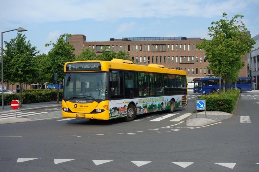 Umove 671/AJ23432 på Vejle Trafikcenter den 24. juni 2016