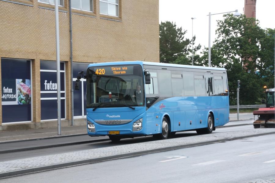 Silkebus 49/BB80273 ved Skive Trafikterminal den 30. juni 2016