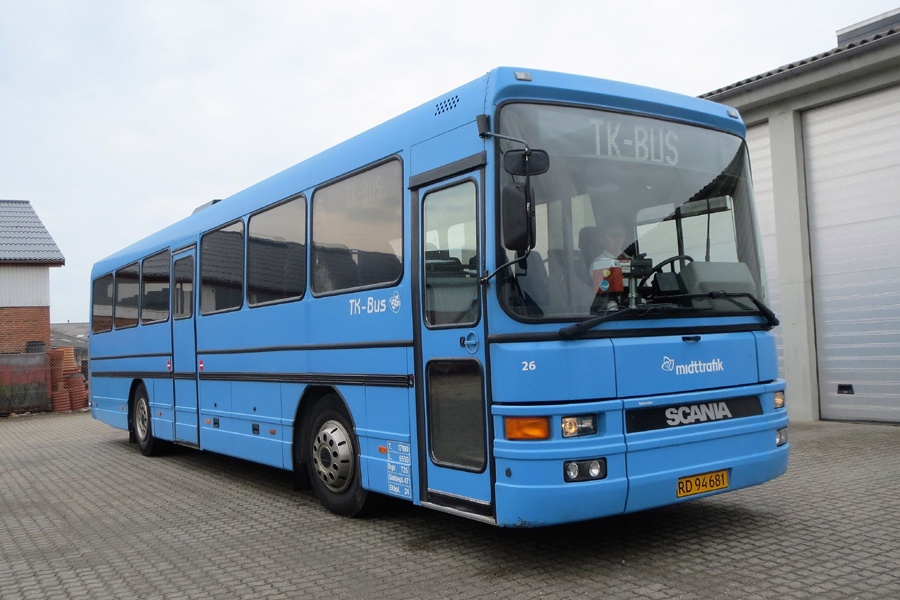 TK-Bus 26/RD94681 i Viborg den 23. juni 2016