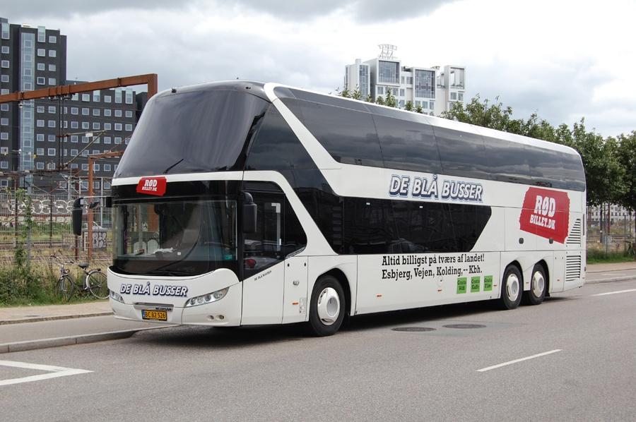 de blå busser til københavn