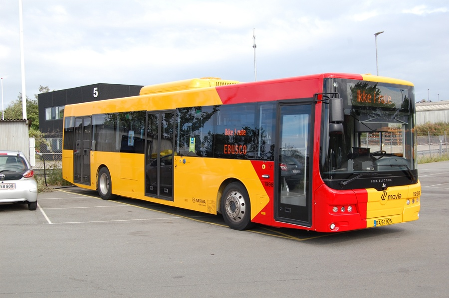 Arriva 1998/BA94925 på Navervej i Roskilde den 8. august 2016