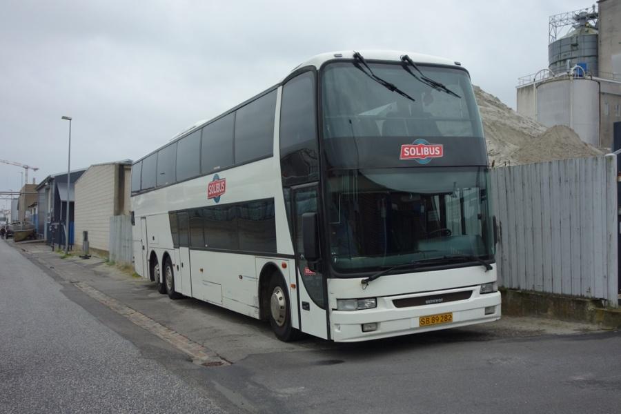 Solibus SB89282 i Strandgade i Vejle den 30. juni 2016
