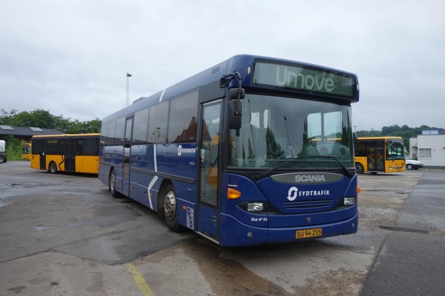 Umove 83/SU94255 på Gammelhavn i Vejle den 30. juni 2016