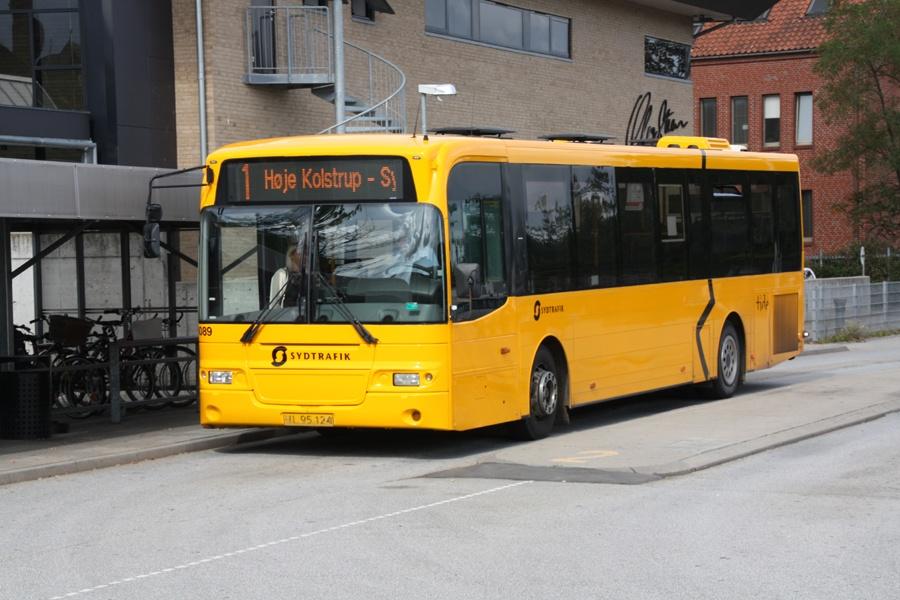 Tide Bus 8089/UL95124 på Aabenraa Busstation den 3. september 2016