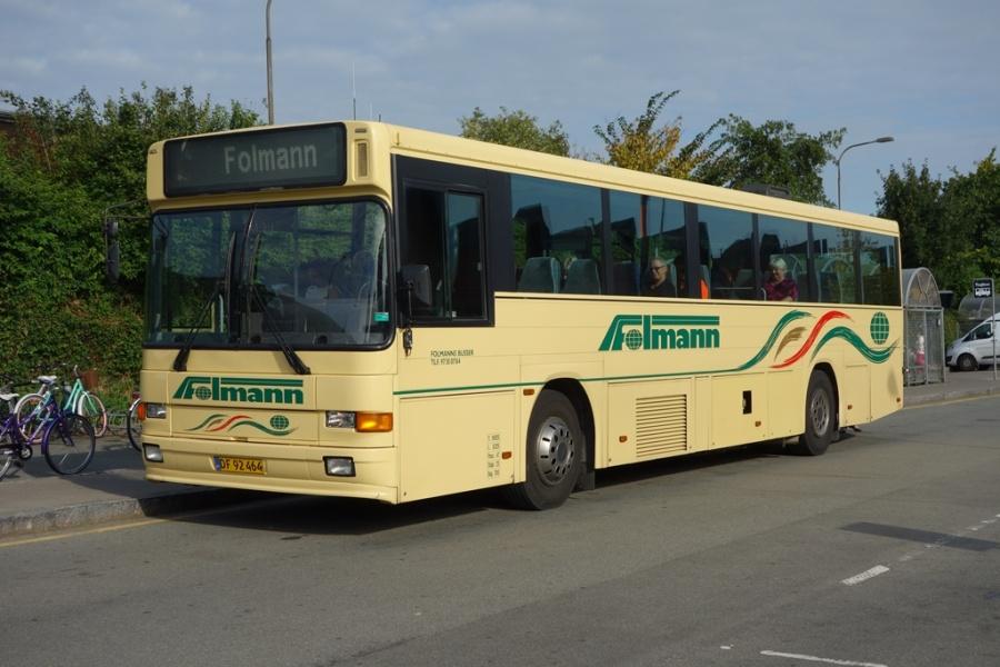 Folmanns Busser 52/DF92464 i Danmarksgade i Vejle den 12. september 2016