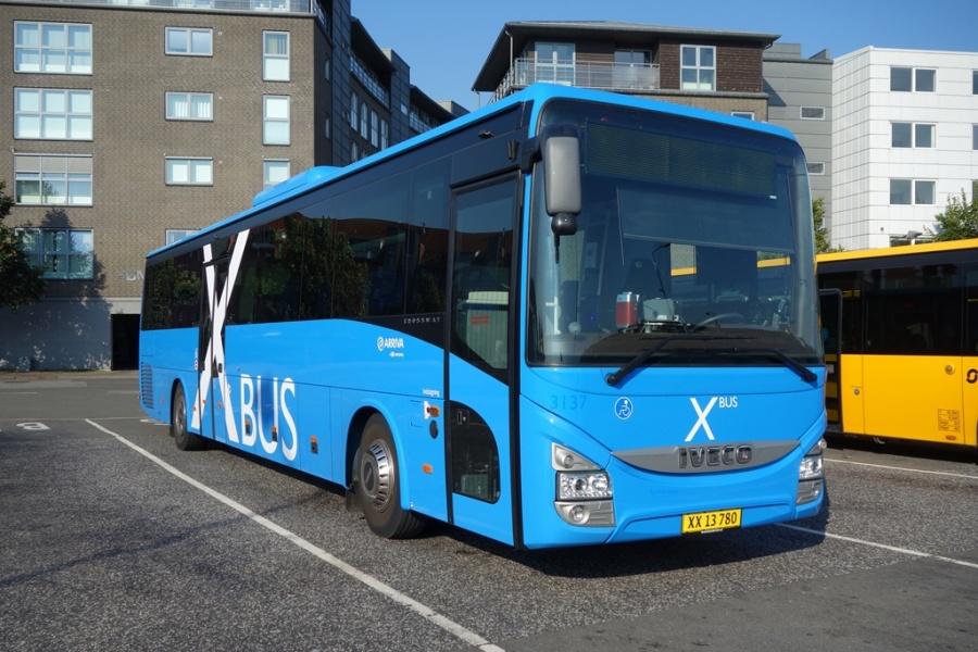 Arriva 3137/XX13780 på Vejle Trafikcenter den 14. september 2016
