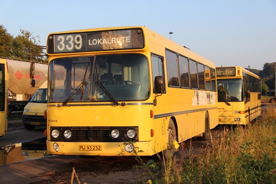 Umove 235/MJ93232 på Gammelhavn i Vejle den 14. september 2016