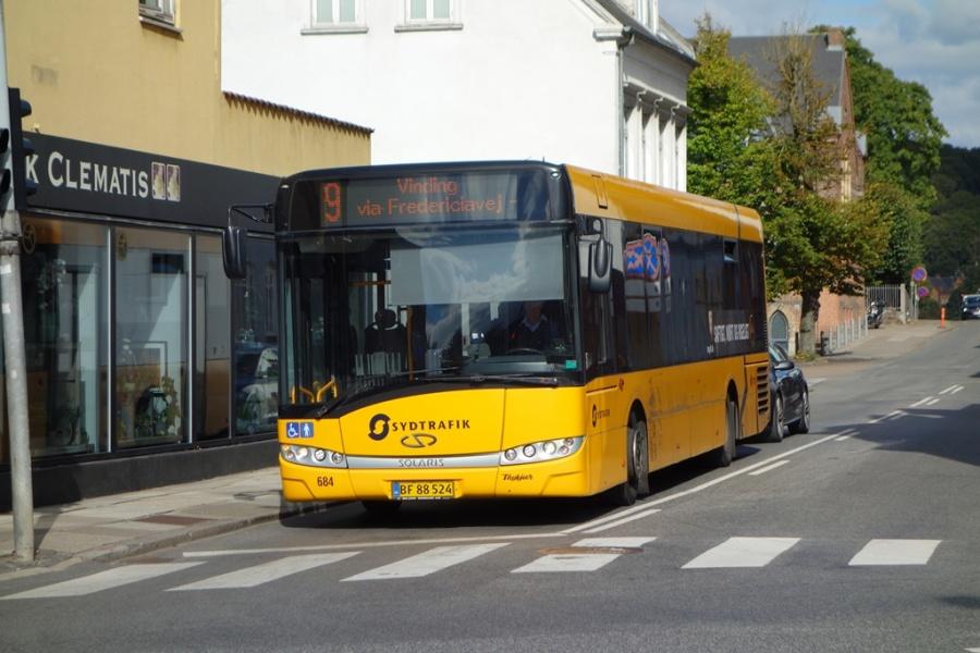 Umove 684/BF88524 på Langelinie i Vejle den 19. september 2016