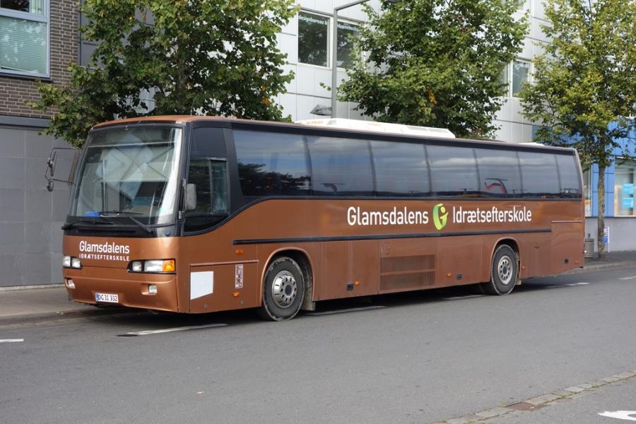 Glamsdalens Idrætsefterskole DG31332 på Vejle Trafikcenter den 20. september 2016