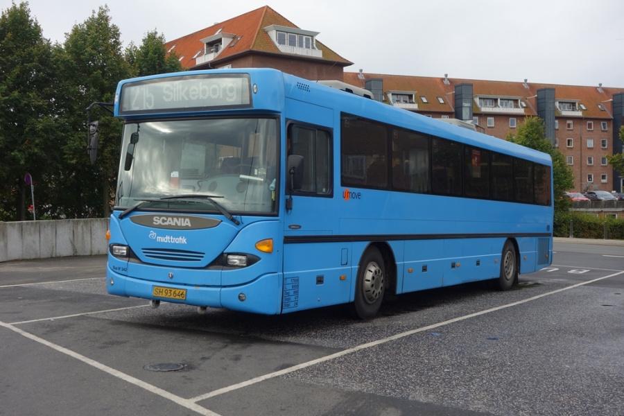 Umove 342/SH93646 på Vejle Trafikcenter den 1. oktober 2016